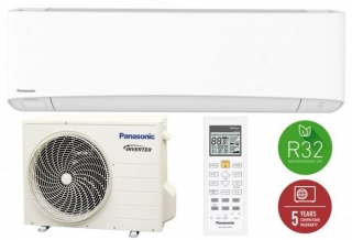 Panasonic KIT-NZ25-VKE Nordic Etherea (wifivel, R32, 3,4 kW)